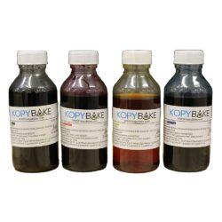 Kopybake - Edible Ink Set of 4 (CMYK)