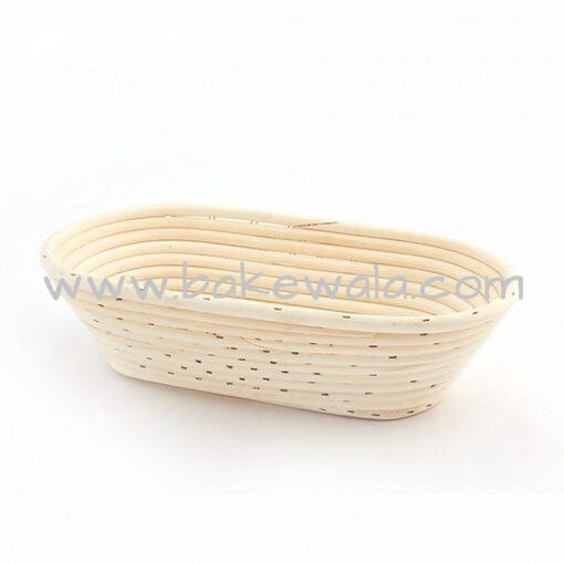 "Bread Proofing Basket - Banneton Rattan - Oval - 12"""