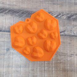 3D Mould - Diamond Heart Jewels - 11 in 1