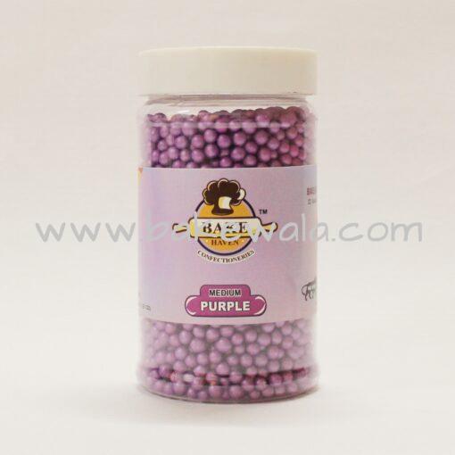 Bake Haven - Sugar Ball Medium - Purple - 150g