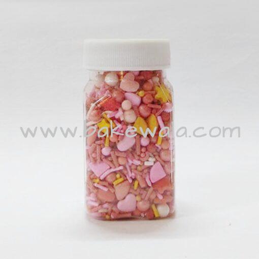 Sugar Shine - Sprinkles - Hot Valentine Sprinkles - 60g