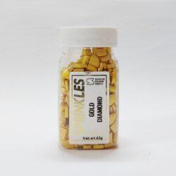 Sugar Shine - Sprinkles - Gold Diamonds - 65g