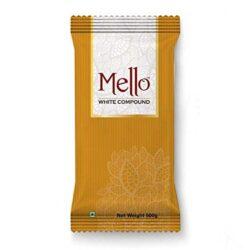Mello White Compound Slab - 500 g