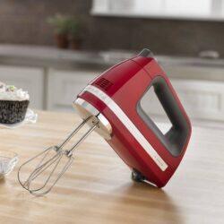 KitchenAid - 7 Speed Hand Mixer Empire Red