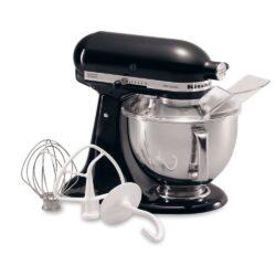 KitchenAid - Artisan Series 4.8L Tilt-Head Stand Mixer - Onyx Black