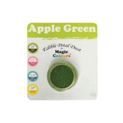Magic Colours - Edible Petal Dust - Apple Green - 8 ml