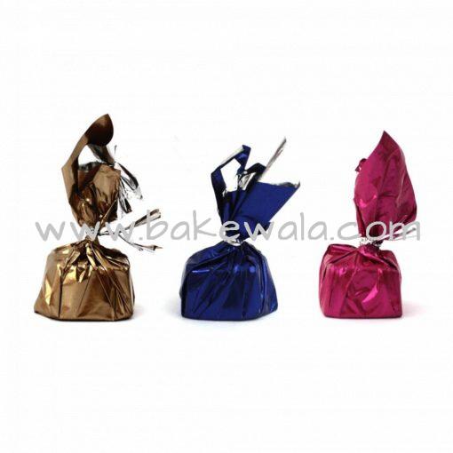 Chocolate Wrapper - Plain - Assorted - 300 pcs