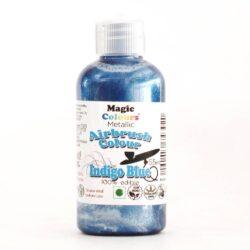 Magic Colours - Metallic Airbrush Colour - Indigo Blue- 55ml
