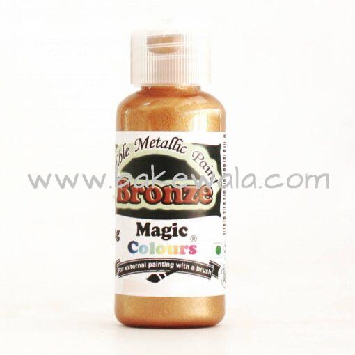 Magic Colours - Metallic Paint - Bronze - 32g