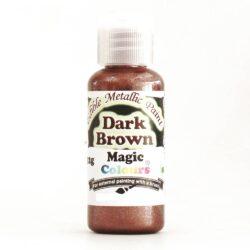Magic Colours - Metallic Paint - Dark Brown - 32g