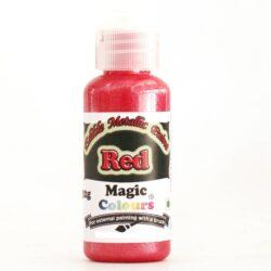 Magic Colours - Metallic Paint - Red - 32g
