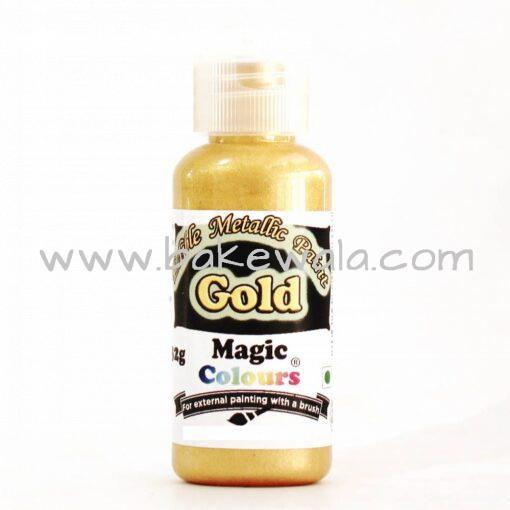 Magic Colours - Metallic Paint - Gold - 32g