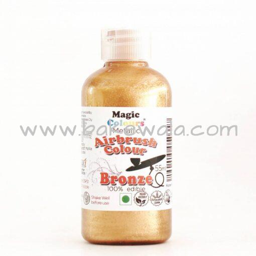 Magic Colours - Metallic Airbrush Colour - Bronze - 55ml