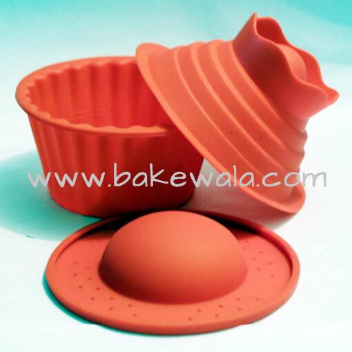 Big Top Cupcake Silicone Mould