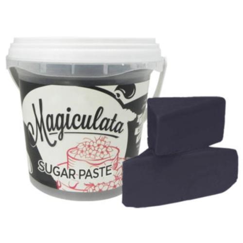 Magiculata - Fondant or Sugar Paste - Midnight Black - 1 kg