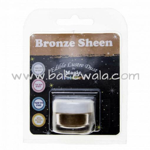 Magic Colours - Edible Lustre Dust - Bronze Sheen - 8 ml