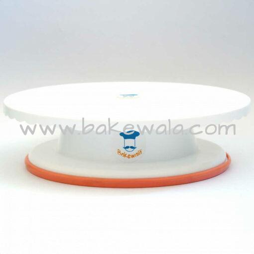 "Cake Turn table 11"" - Revolving Cake Stand"