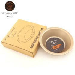Chefmade - Mini Round Tart Pan - 5 inches