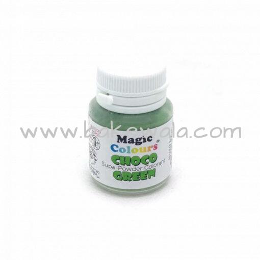 Magic Colours - Supa Powder Chocolate Color - 5g - Green