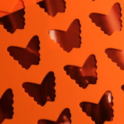 Chocolate Chablon Silicone Mat - Butterfly