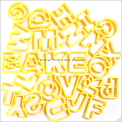 Cookie Cutter - Alphabet - Letters