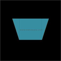 Cupcake Paper Liners - Brown n Gold 11-cm - 100 pcs