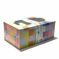 Cupcake Boxes  6 Cavities -Graphic Print - 20 PCS