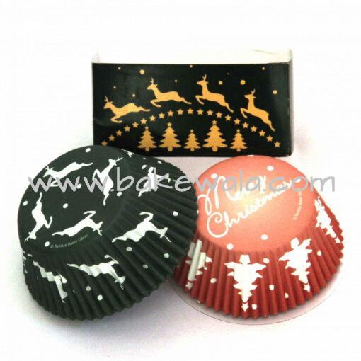 Cupcake Liner Set - Christmas - 48 pcs