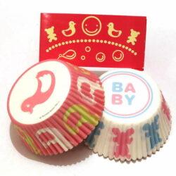 Cupcake Liner Set - Happy Kids - 48 pcs
