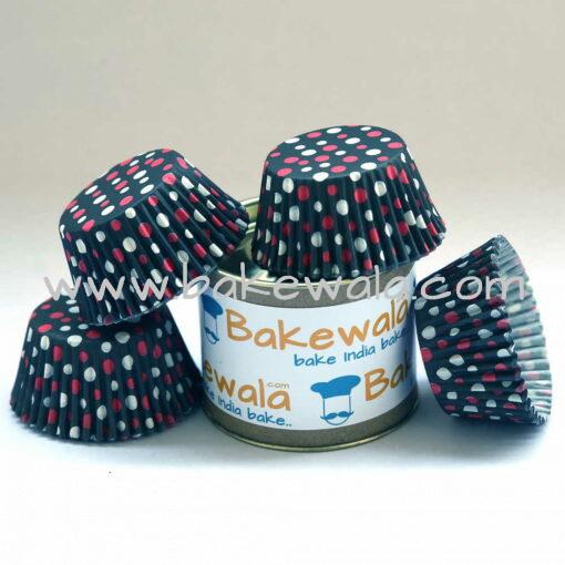Cupcake Paper Liners - Dot Contrast - 10.5cm - 100 pcs