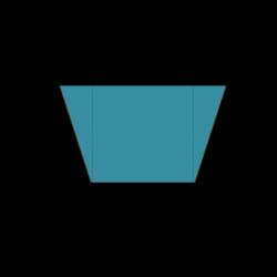 Cupcake Paper Liners - Blue Polka Dots- Mini - 7cm -100 pcs