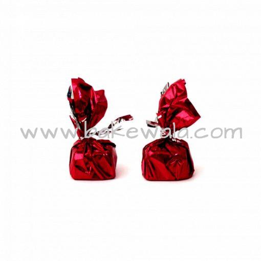 Chocolate Wrapper - Plain - Matte Red - 300 pcs