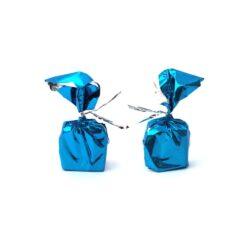 Chocolate Wrapper - Plain - Cyan Blue - 300 pcs