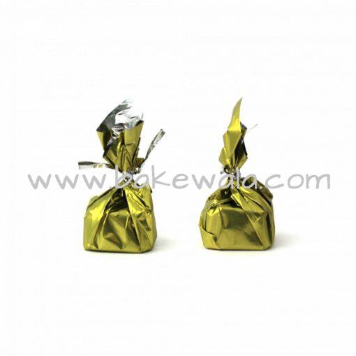 Chocolate Wrapper - Plain - Light Green - 300 pcs