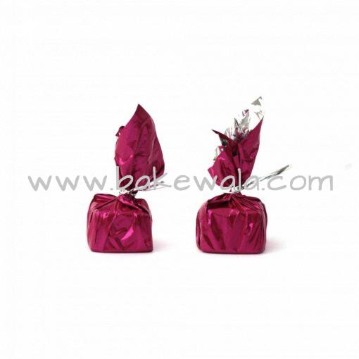 Chocolate Wrapper - Plain - Dark Pink - 300 pcs