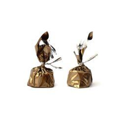 Chocolate Wrapper - Plain Powder Gold - 300 pcs