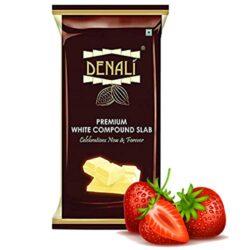 Denali - Premium White Compound Slab - Strawberry - 500g