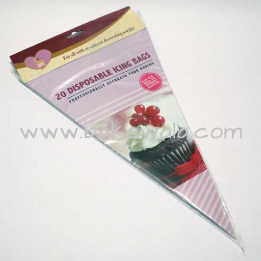 Disposable Icing or Piping Bag - 20 pcs