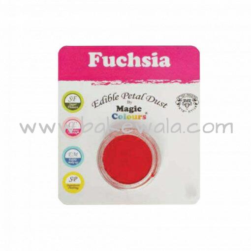 Magic Colours - Edible Petal Dust - Fuchsia - 8 ml