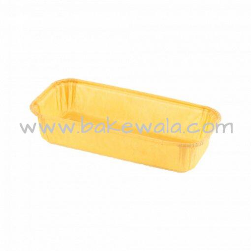 Paper Baking Mould - Rectangular Loaf  - Rolled Edge -2000pcs