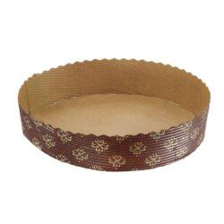 Paper Baking Mould - Round Short Cake Mould - 6 Inch dia -600pcs