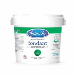Satin Ice Green Vanilla Fondant 2.5 kg