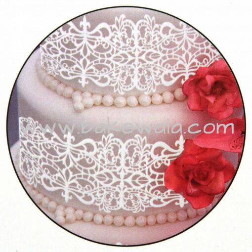 Silicone Mat for Sugar Laces - Ornate