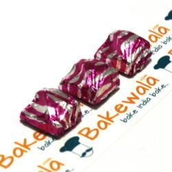 Chocolate Foil Wrapper - Cloud - Pink - 300 pcs