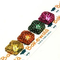 Chocolate Foil Wrapper - Assorted Colour Dotted - 300 pcs