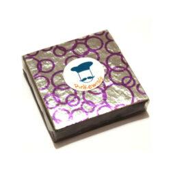 Chocolate Foil Wrapper - Assorted Colour Hoops - 300 pcs