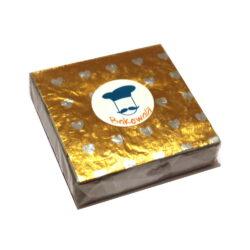 Chocolate Foil Wrapper - Heart Pattern - Yellow - 300 pcs