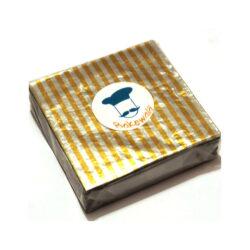 Chocolate Foil Wrapper - Yellow Stripes - 300 pcs