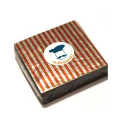 Chocolate Foil Wrapper - Orange Stripes - 300 pcs