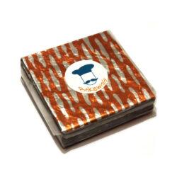 Chocolate Foil Wrapper - Cloud - Orange - 300 pcs